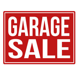 ANNUAL HUGE MULTI-FAMILY GARAGE SALE