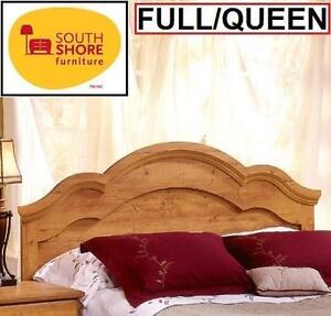 NEW SOUTH SHORE PRAIRIE HEADBOARD - 109361303 - FULL/QUEEN COUNTRY PINE