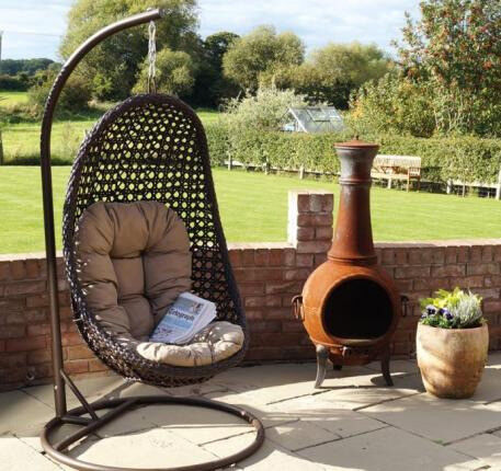 Chambery Hanging Chair Garden Furniture In Radcliffe
