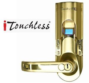 NEW ITOUCHLESS FINGERPRINT LOCK