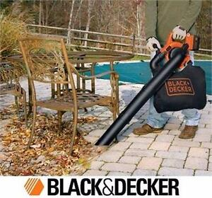 NEW* BLACK & DECKER BLOWER/VACUUM 40V ELECTRIC HOME LEAF OUTDOOR POWER TOOL EQUIPMENT  84561929