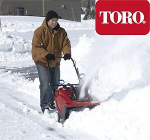 "NEW TORO GAS SNOW BLOWER POWER CLEAR SINGLE STAGE BLOWER WITH 21"" CLEARING WIDTH - SNOW THROWER REMOVAL  83953141"