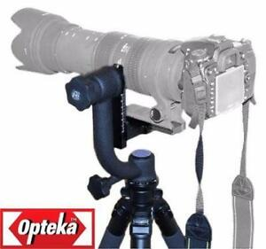 OPTEKA PROFESSIONAL HEAVY DUTY METAL GIMBAL TRIPOD HEAD - OPEN BOX