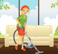 780-222-3044 Europian experienced cleaning ladies with suplies