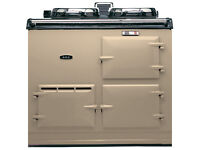 AGA TWO OVEN CLASSIC CREAM AND BLACK