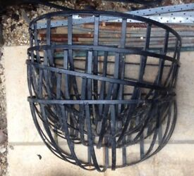 4x large metal wall planters 50cm