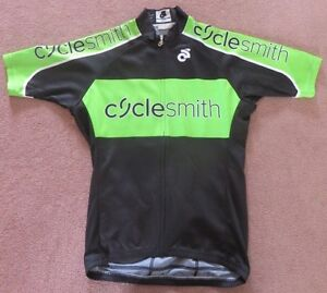 Cycling jerseys. Men's size small.