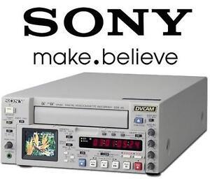 USED SONY CASSETTE PLAYER RECORDER - 106909970 - DVCAM Digital Videocassette Recorder DSR-45 Mini DV Unit VCR