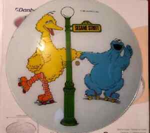Vintage Sesame Street Light Fixture Cover London Ontario image 1