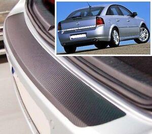 OPEL-VECTRA-GTS-Hatchback-estilo-Carbono-Parachoques-trasero-PROTECTOR