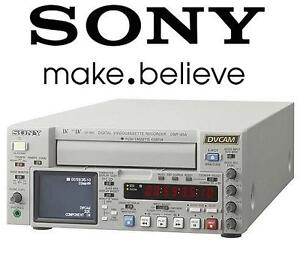 USED SONY CASSETTE PLAYER RECORDER Video Production  Editing          Recorders  Players 106904162