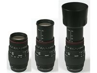 Sigma 70-300mm f/4-5.6 DG Macro Lens for Canon (never been used before)