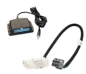 Chrysler radio auxiliary audio input interface. Play aux MP3 on factory stereo