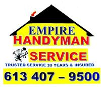 EmpireTrade Services Ottawa -Trusted Service 30 for years