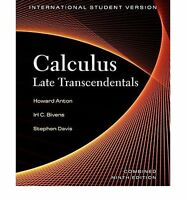 Calculus Late Transcendentals International Combined 9th Edition