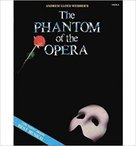 Phantom of the Opera Sheet Music Book 71 Pages $20.00