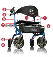 ++ AIRGO EXCERSION ROLLATOR ++ TALL++NEW++