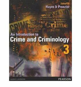 An Introduction to Crime and Criminology (3rd ed) Hayes, Prenzler Nerang Gold Coast West Preview
