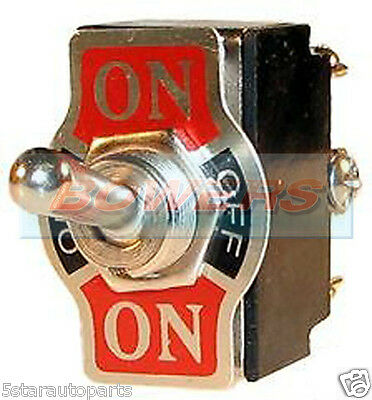 12V CAR 20A UNIVERSAL METAL ON/OFF/ON CENTRE OFF TOGGLE/FLICK SWITCH DOUBLE POLE