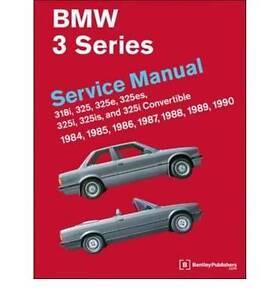 Bentley Service Manual - BMW E30 Killara Ku-ring-gai Area Preview