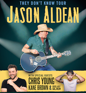 AWESOME GROUP SEATS FOR JASON ALDEAN JUNE 2nd!