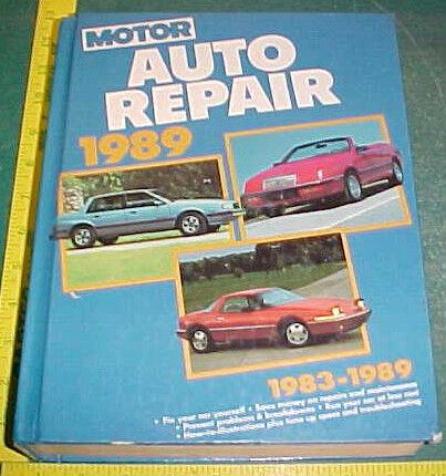 1983-1989 MOTOR DOMESTIC CAR REPAIR SERVICE MANUAL 50th