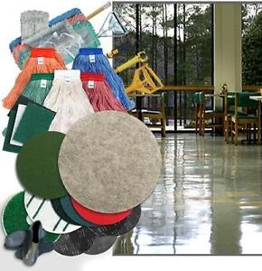 Floor Scrubber  and Propane Burnisher Pads