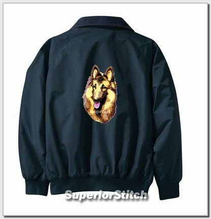 BELGIAN TERVUREN Challenger jacket ANY COLOR B