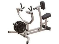 Body Solid Seated Row Machine