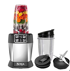 New Nutri Ninja 8-Piece One-Touch Intelligence Extractor Blender