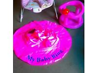 Bath chair and ring