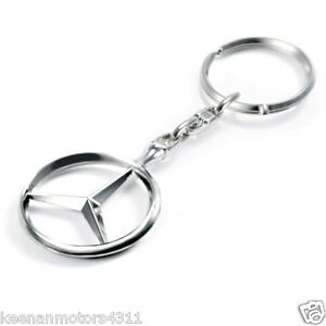 Genuine mercedes key chain ebay for Mercedes benz key chain