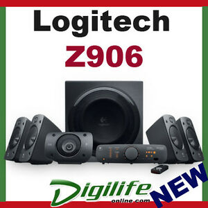Logitech Z906 Surround Sound 5.1 Speaker System 3D Stereo 500W