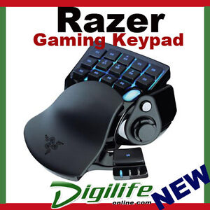 Razer Nostromo Gaming Keypad, Ergonomic form factor layout, 16 programmable keys