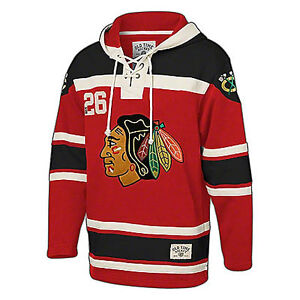Old Time Hockey Chicago Blackhawks - Laced-up Hoodie - M
