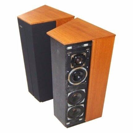 Vintage Goodmans Dimension 8 Floor Standing Loudspeakers