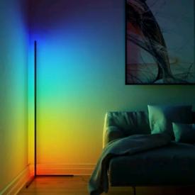 Floor lamp LED modern corner rgb colour changing remote control brand