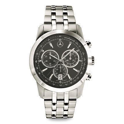Mercedes-Benz Classic Retro Chronograph Quartz // AMBT025 ... |Mercedes Benz Chrono Watches