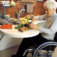 Adapted wheel chair kitchen / 18 000$ / Cuisine chaise roulante