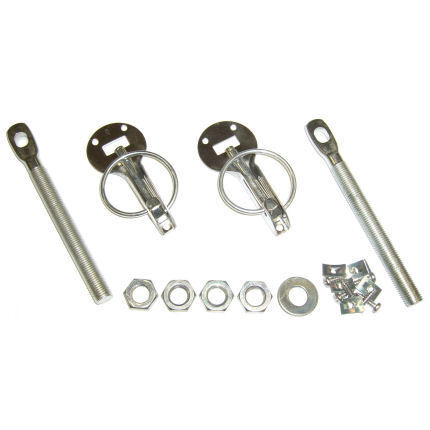 Stainless Steel Boot Rally Fasteners Mini Universal Competition Bonnet Pins