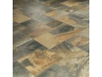 Settecento Italian primitive floor tiles