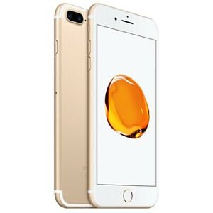 iPhone 7Plus gold 128gb