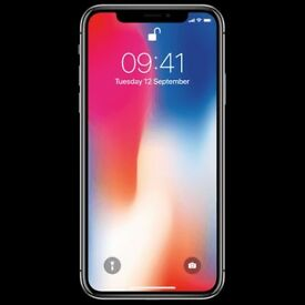 IPHONE X 64gb space/grey unlocked