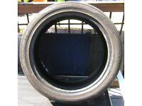 275/40/R20 106W - Part Worn Tyre (taken off BMW X5)