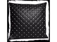 *Nemesis Now* Rhinestone Cushion
