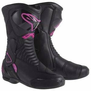 Alpine Stella SMX-6 motorcycle boots. Womans 7 Narellan Vale Camden Area Preview