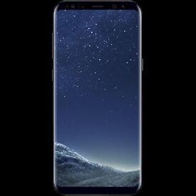 Samsung s8 plus midnight black brand new