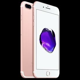 32gb iphone 7 plus rose gold brand new inbox
