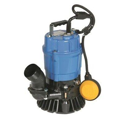 Tsurumi Hsz2.4s-62 2 Auto Submersible Trash Pump 53gpm 115v 39 Head Electric