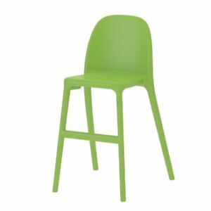 2 Stackable URBAN Junior chairs green chair from IKEA
